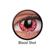 lenti giornaliere blood shot