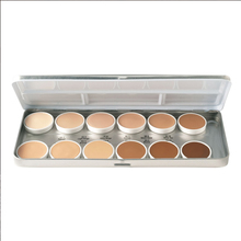 palette matte hd founda 12 colors refillable