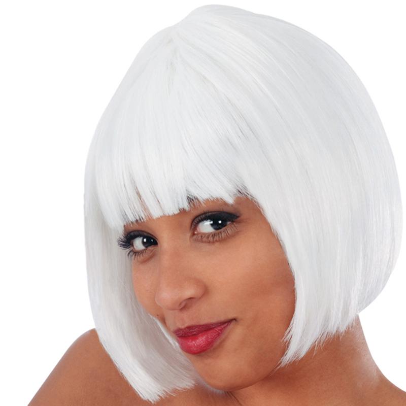 Vendita parrucca caschetto bianco lovely online   Shop ...