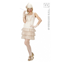 costume anni 20 charleston bianco 4b3544f1f17