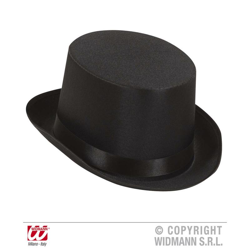 il più votato a buon mercato stile di moda del 2019 prezzi economici Vendita cappello cilindro nero in raso online | Shop ...