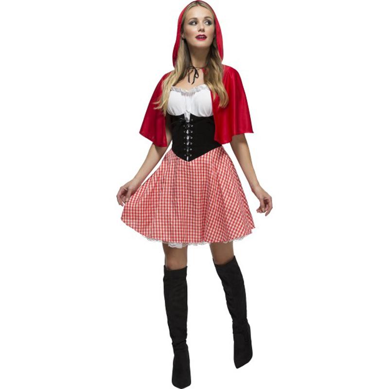 Vestito di cappuccetto rosso sangue